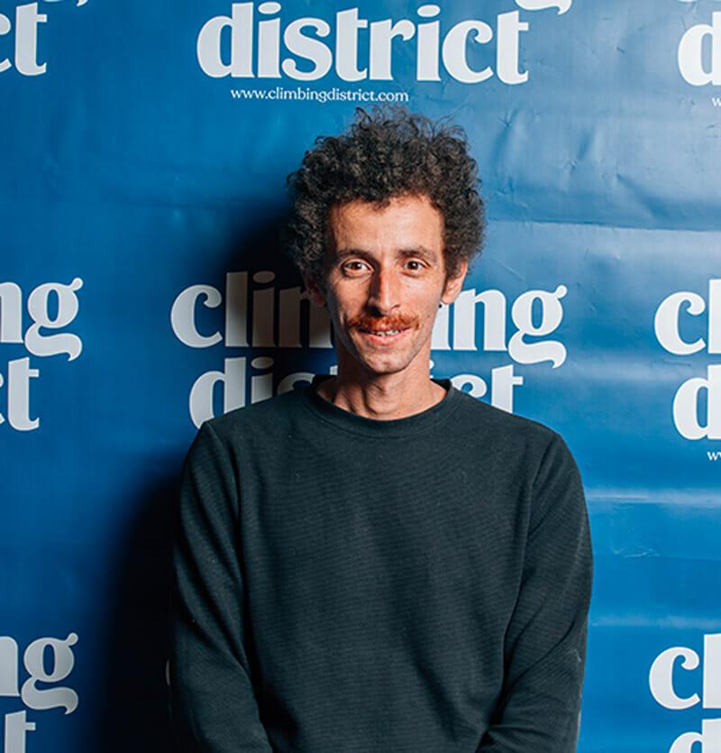Benjamin Bouissou, co-fondateur et directeur technique de Climbing District